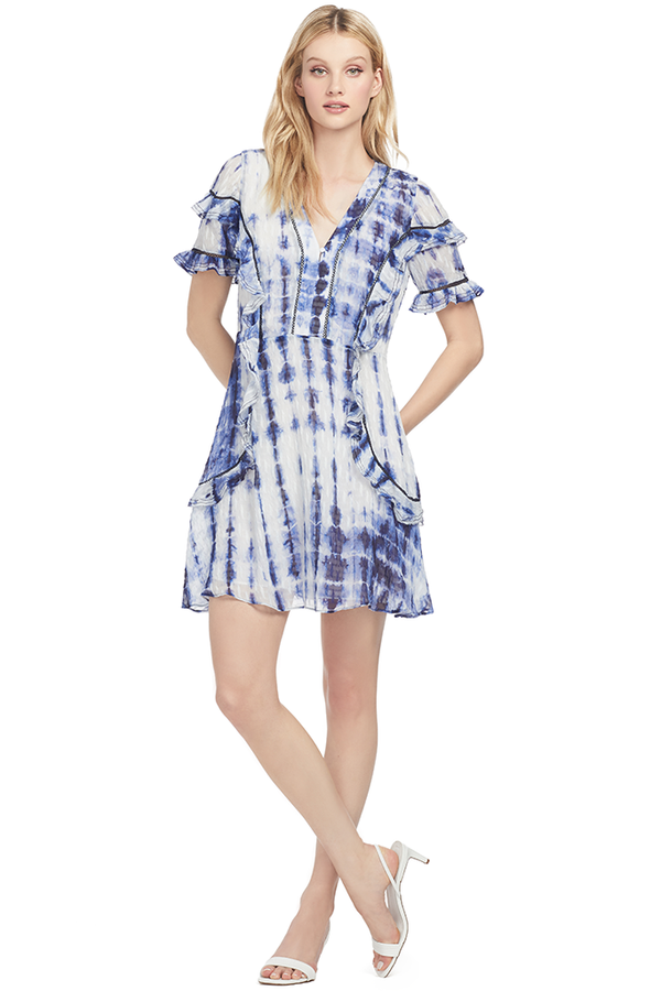 Tanya Taylor Rhett Dress (Tie Dye)