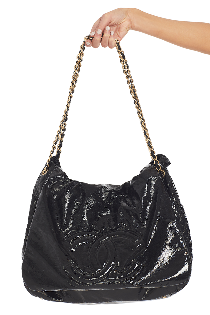 Vintage Chanel Patent Rock Bag