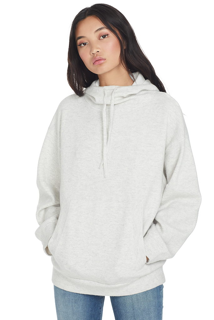Double Layer Hoodie (Grey)