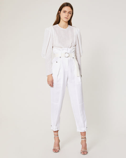 Touvois Top - White