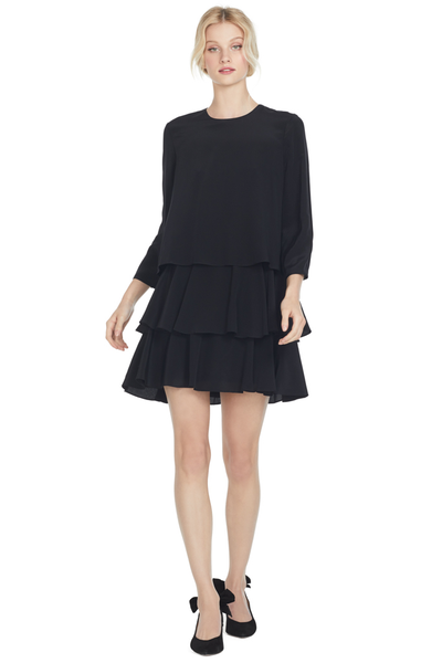 GREY Jason Wu Long Sleeve Dress (Black)