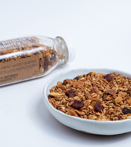 Maple Cherry Granola (Vegan)