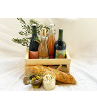 Load image into Gallery viewer, Wine Selection with Olives + Cheese