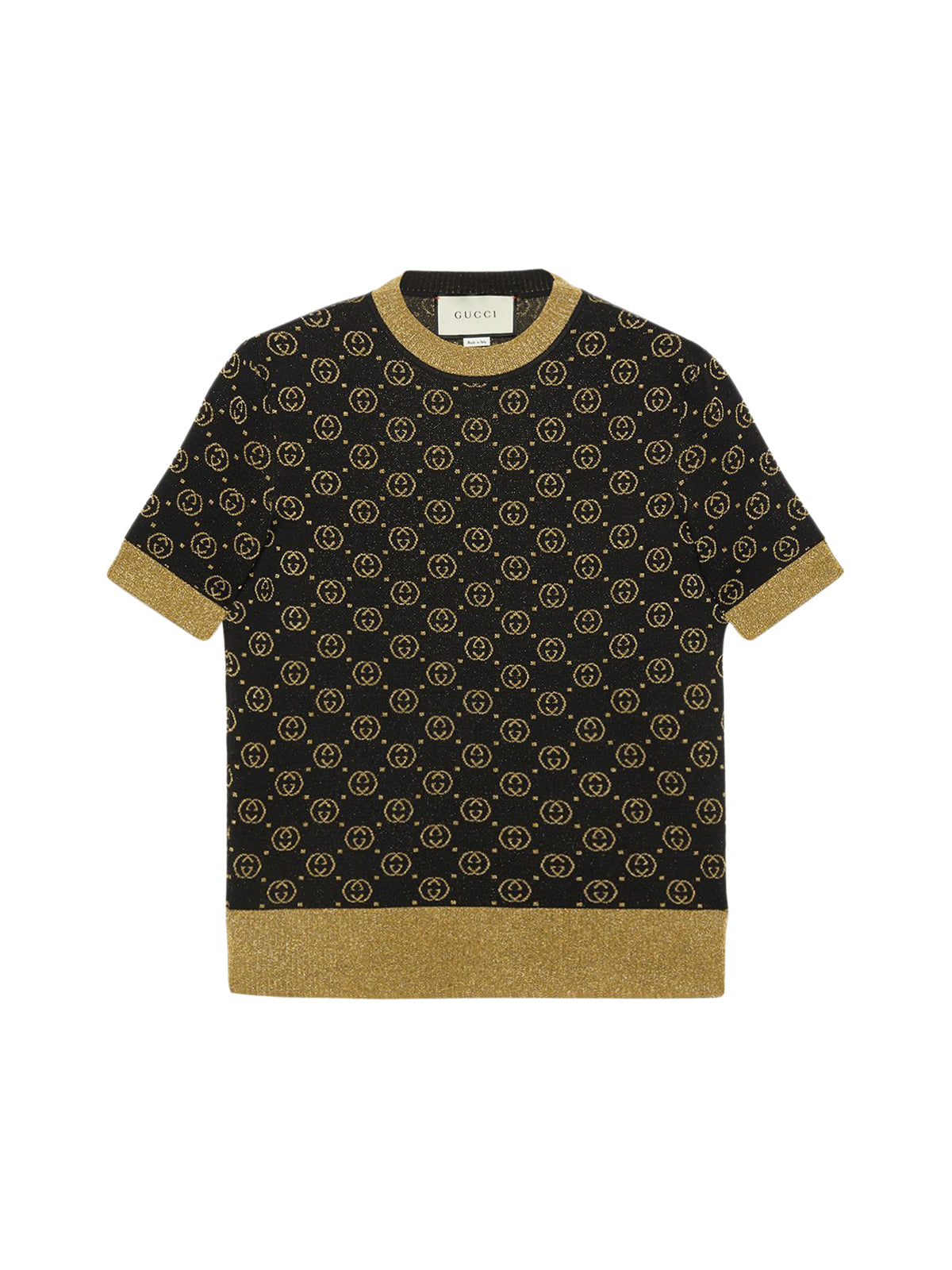 Wool top with GG motif