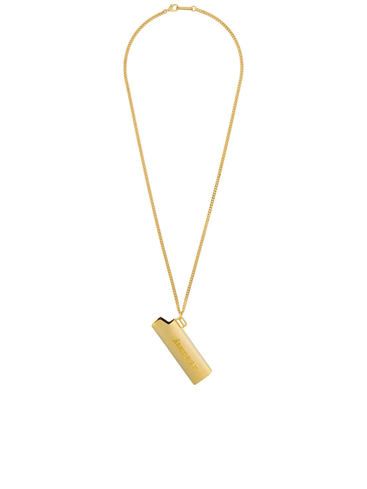 logo lighter case necklace