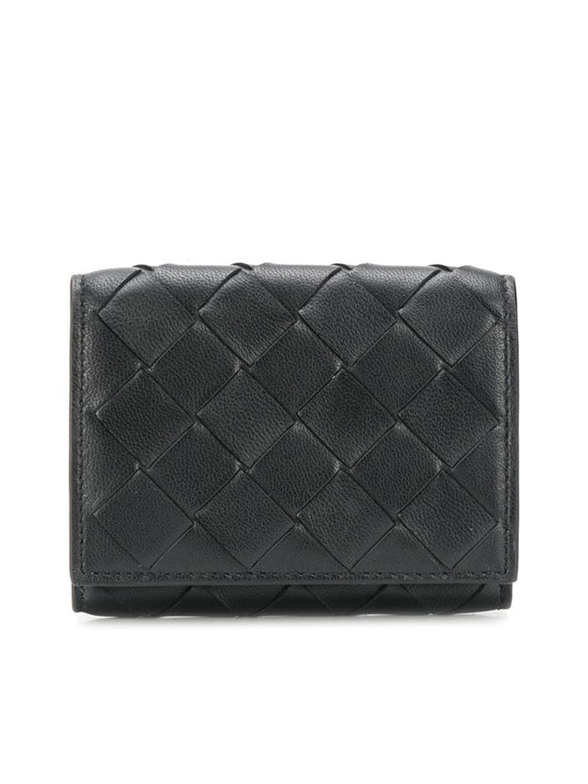 Wallet with woven design