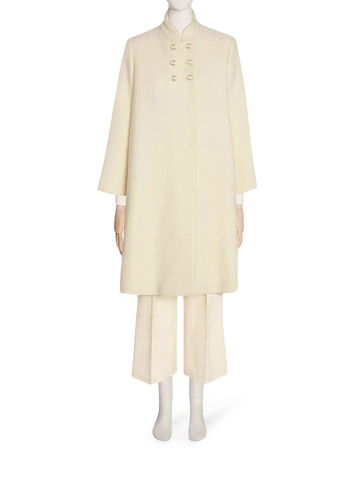 shift mid-length coat