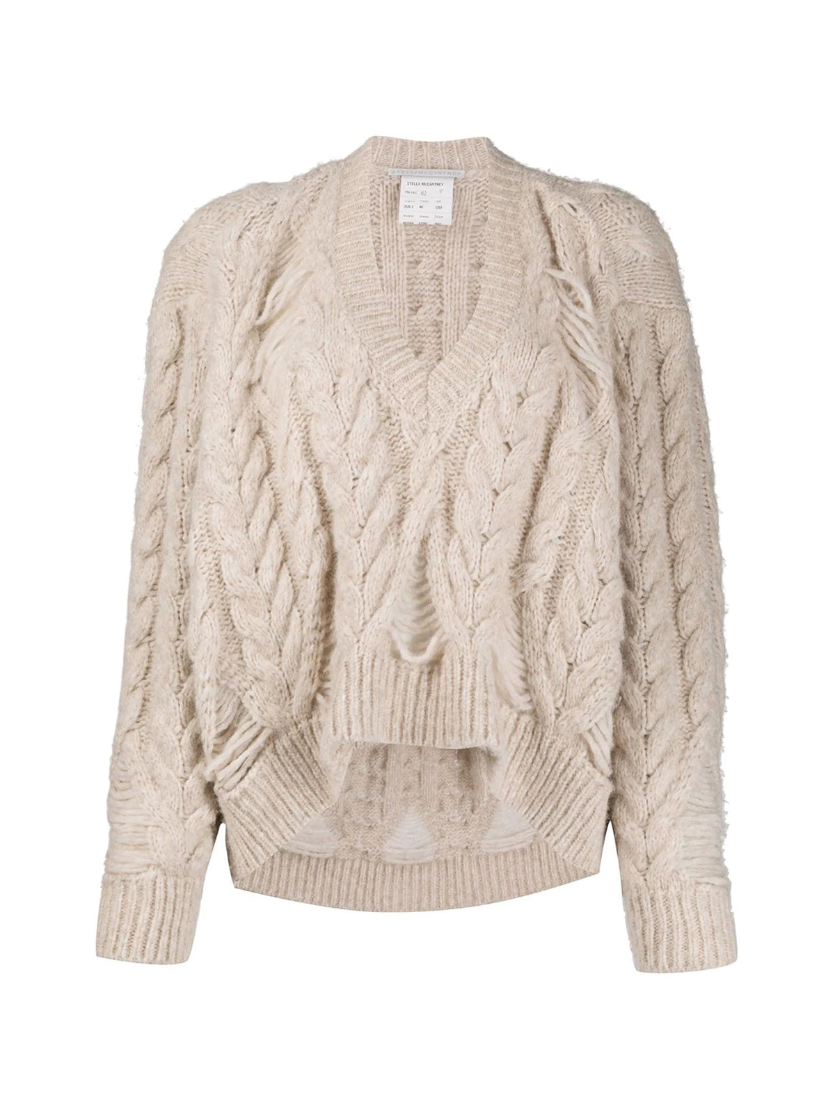 Knitted relaxed jumper