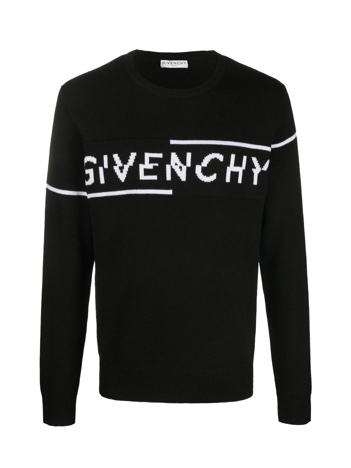 Givenchy Split knitted jumper
