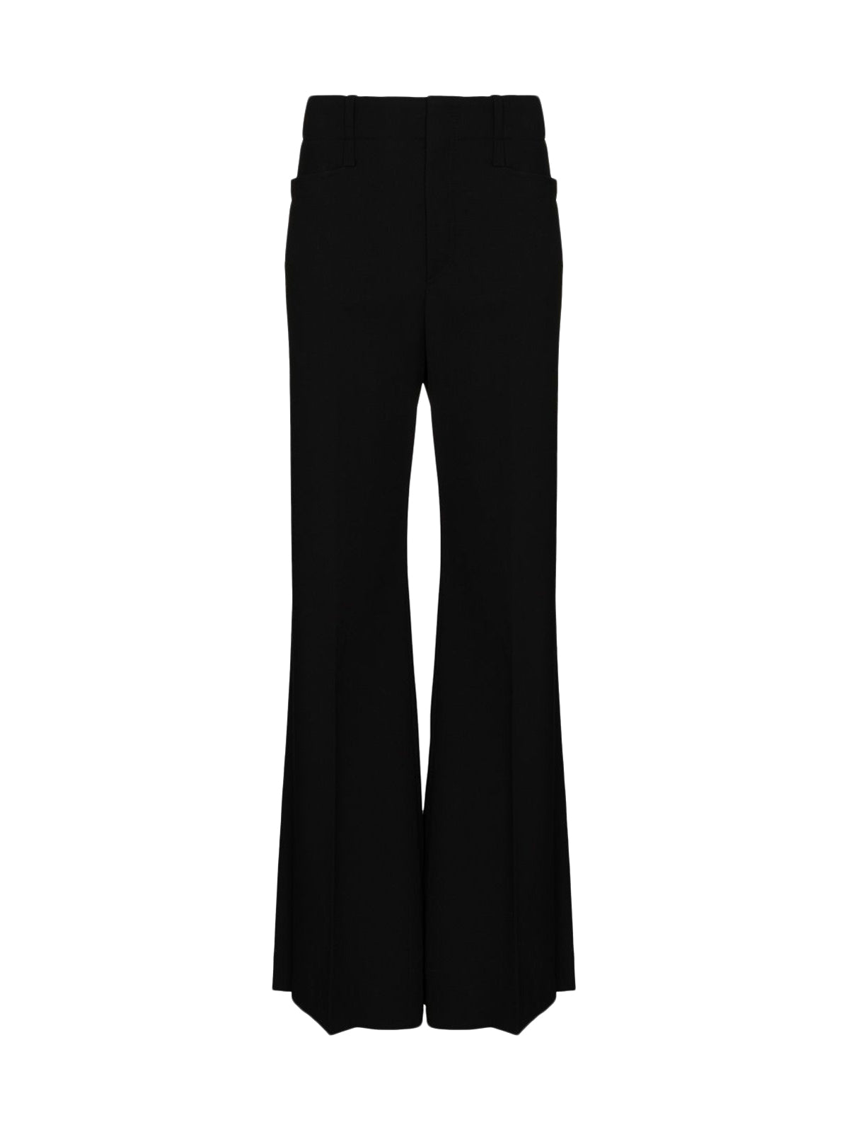 HIGH-WAISTED TROUSERS