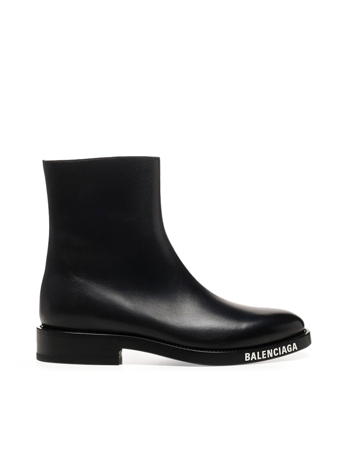 Logo Sole Ankle Boots