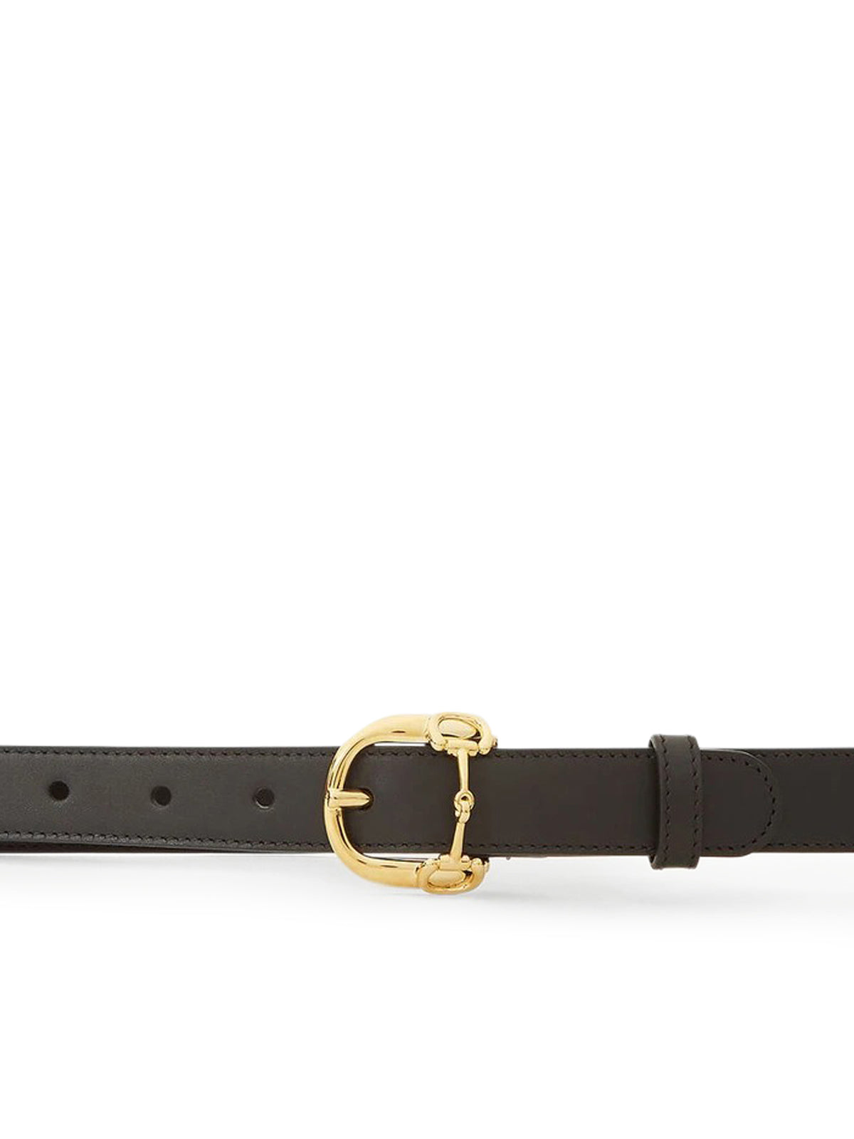 Horsebit Buckle Belt