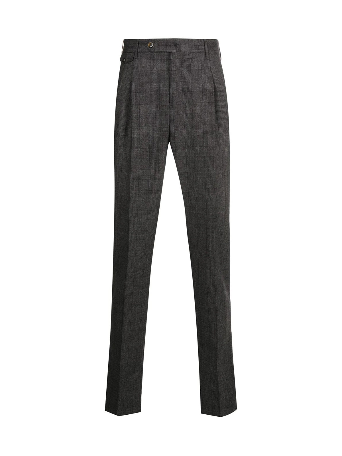 Tailored trousers in squares