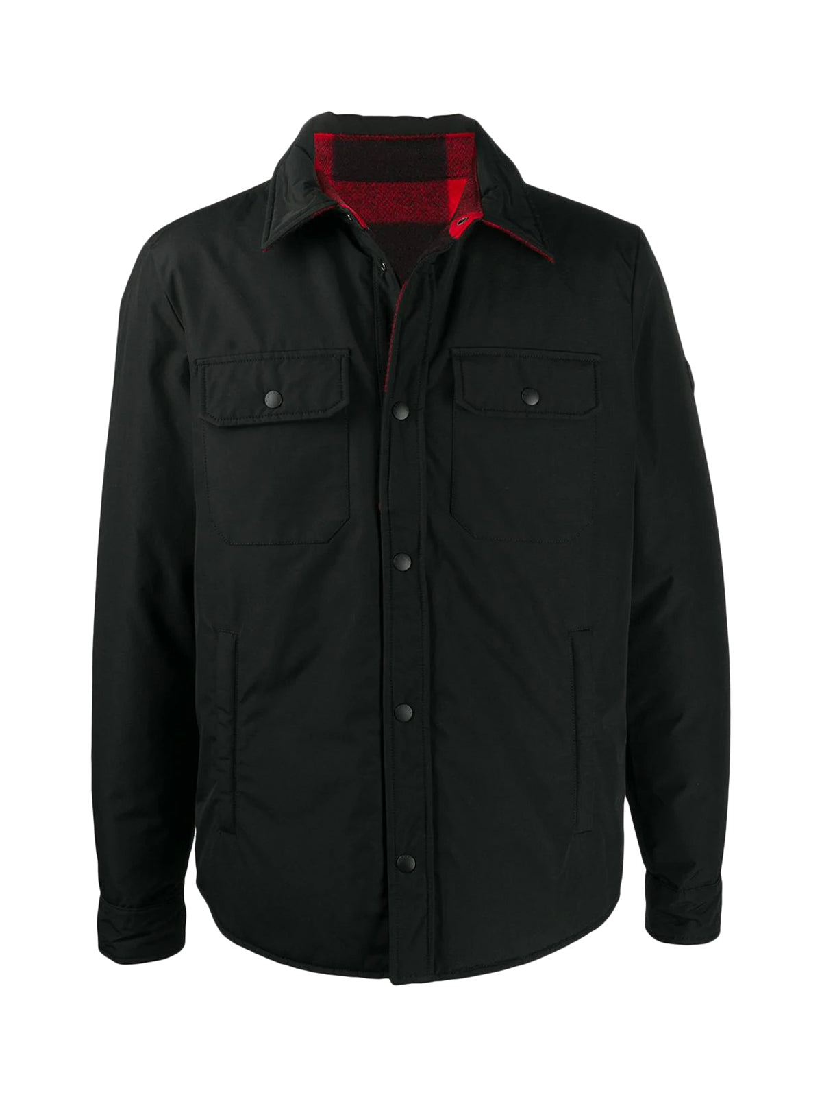 Reversible single breasted coat