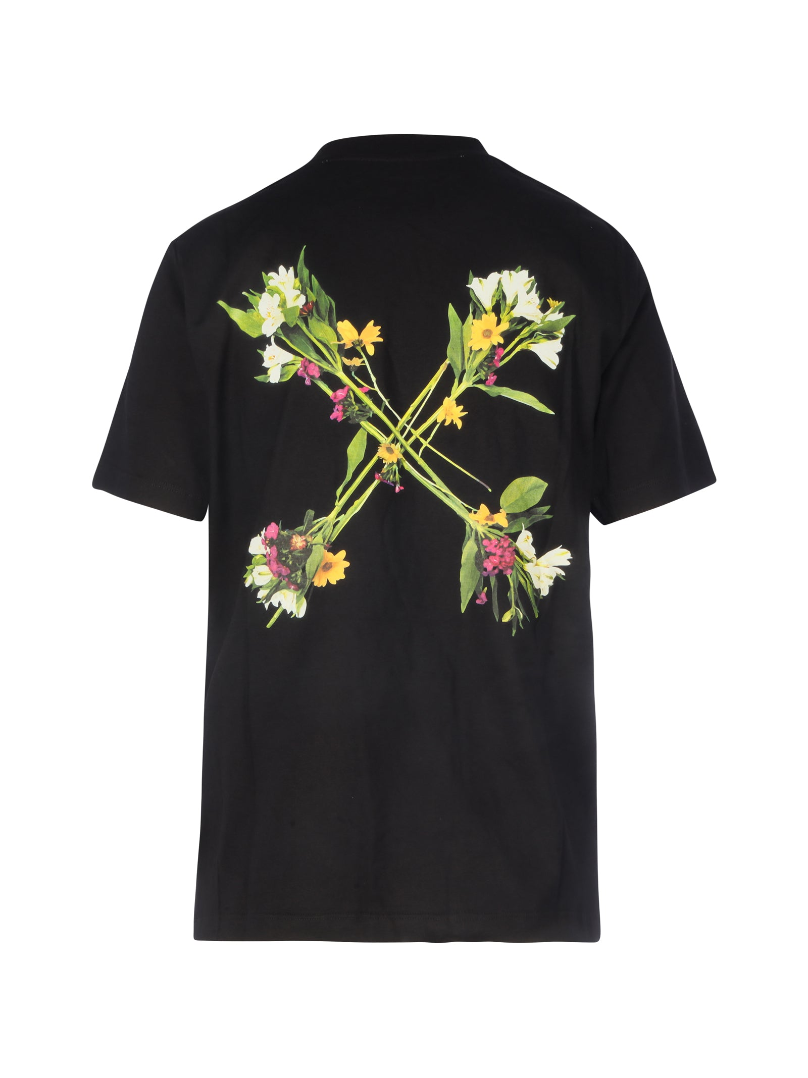 T-Shirt flowers logo