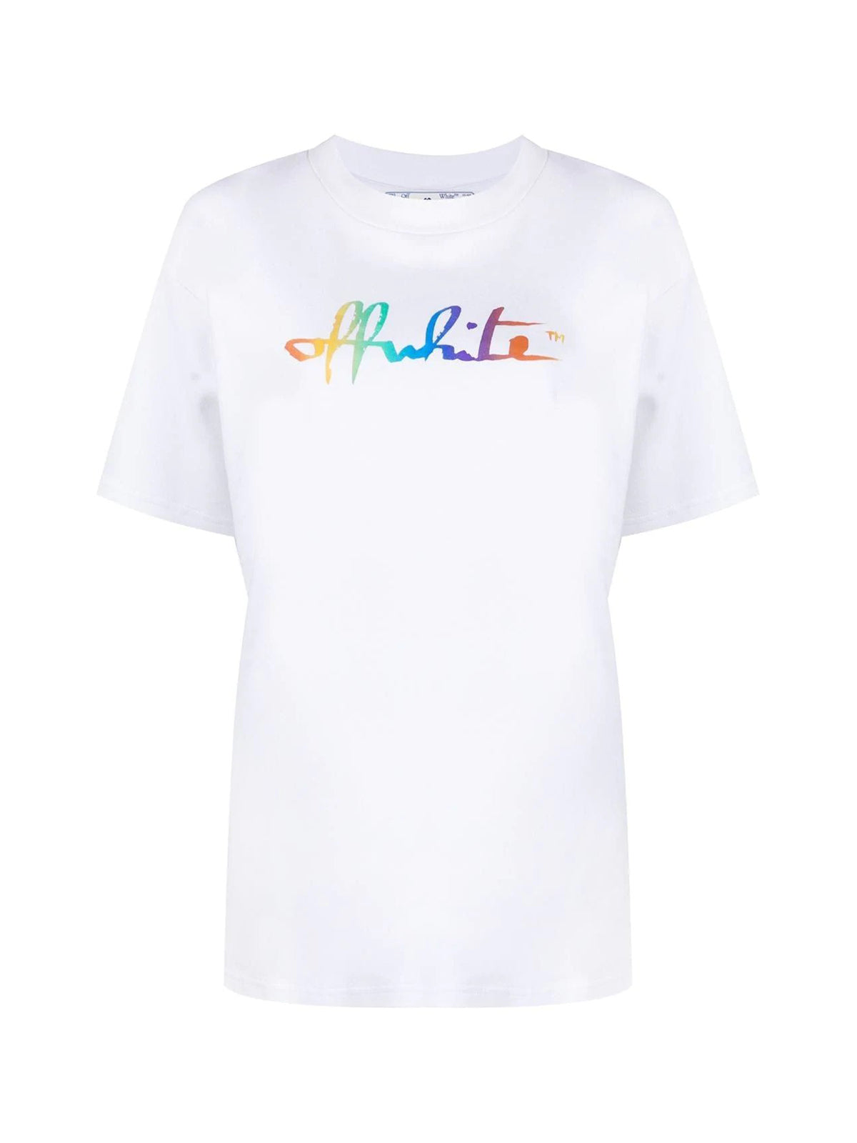 logo-print short-sleeve T-shirt