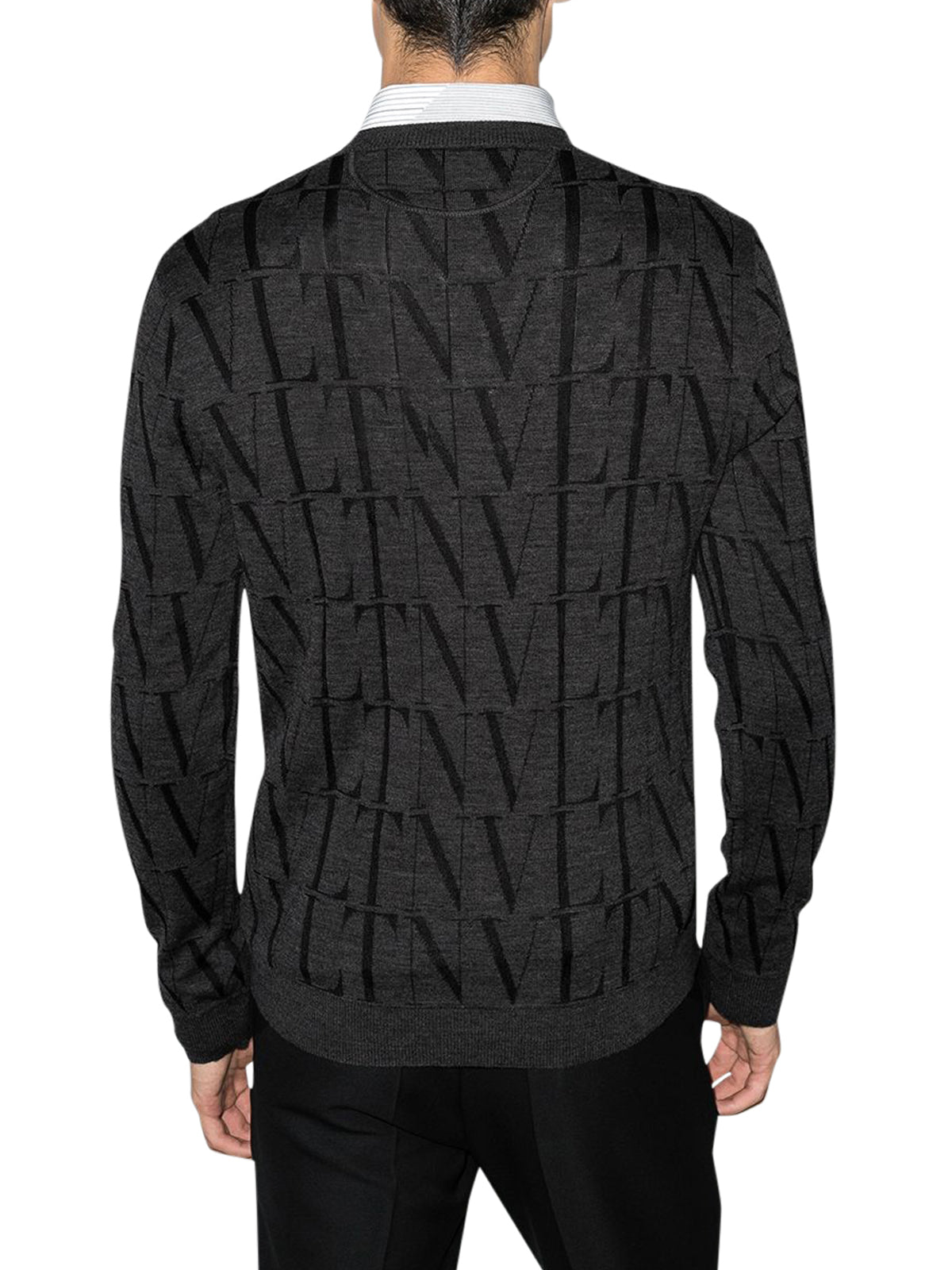 VLTN fine-knit jumper