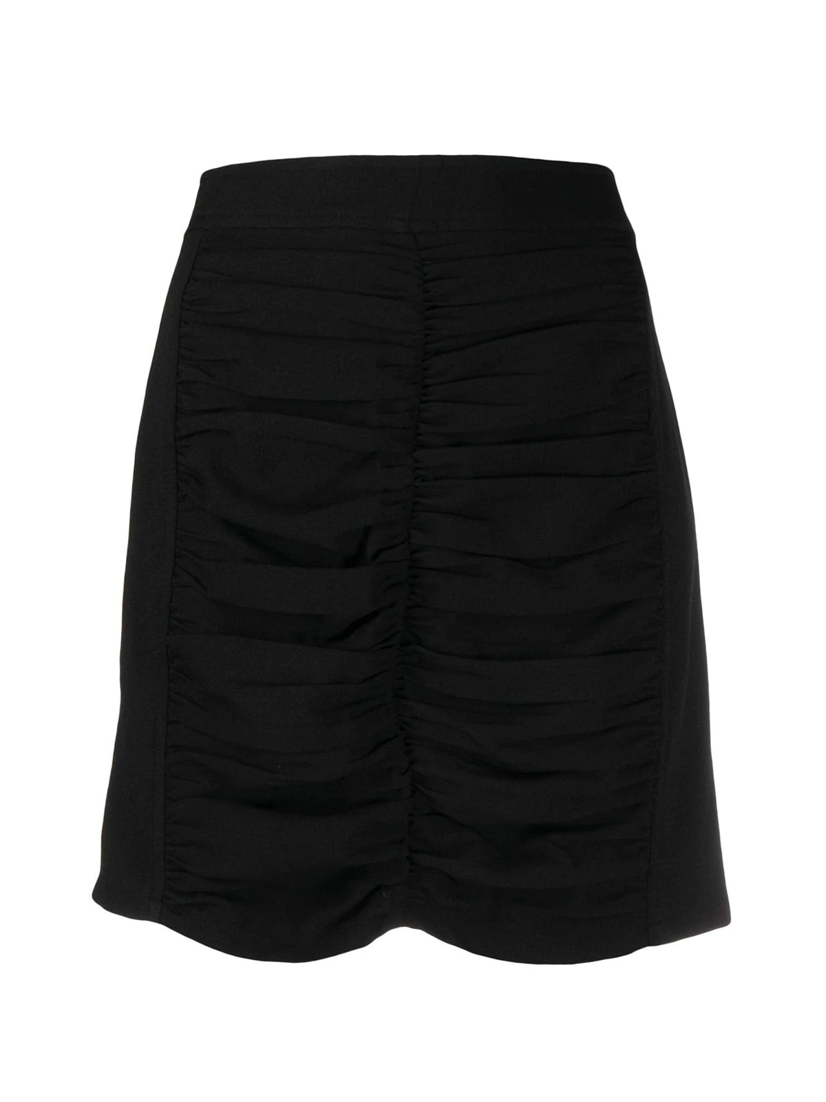HEAVY CREPE MINI SKIRT