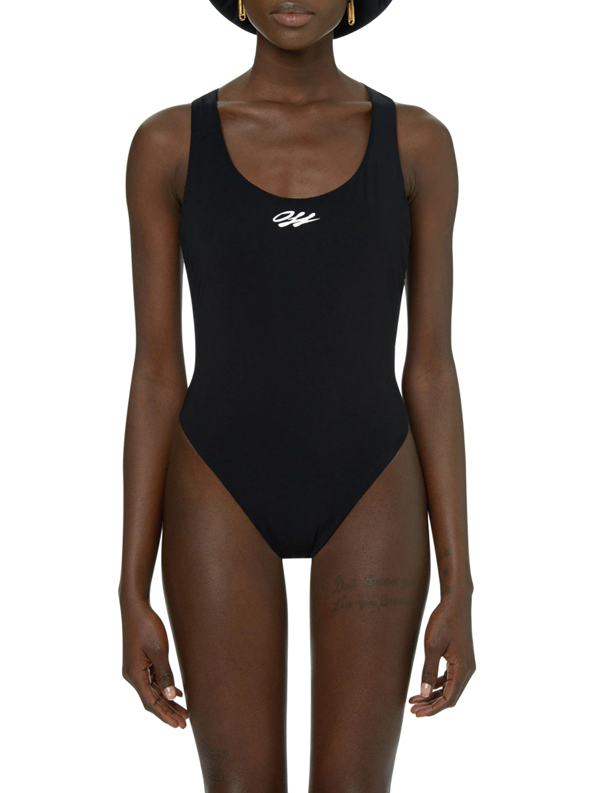 Off-White One-pieces BLACK TAPE SWIMSUIT