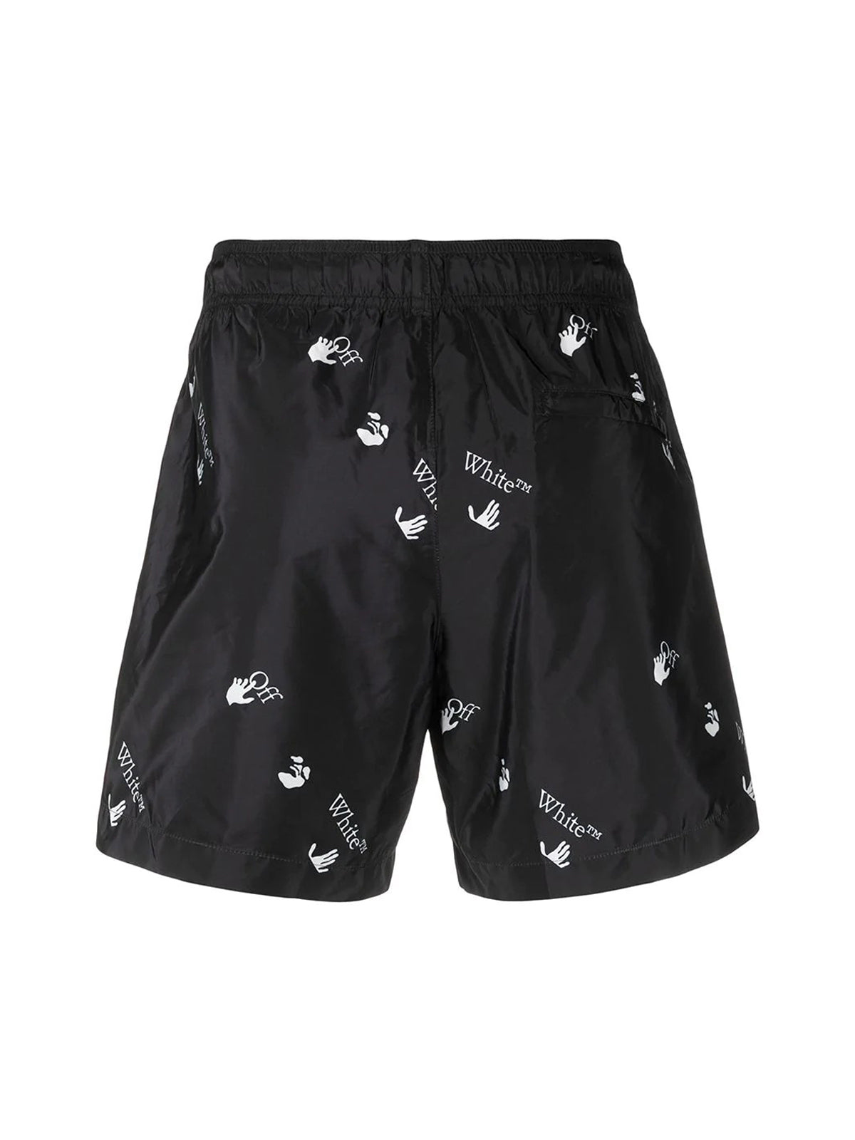 OW logo-print swimming shorts
