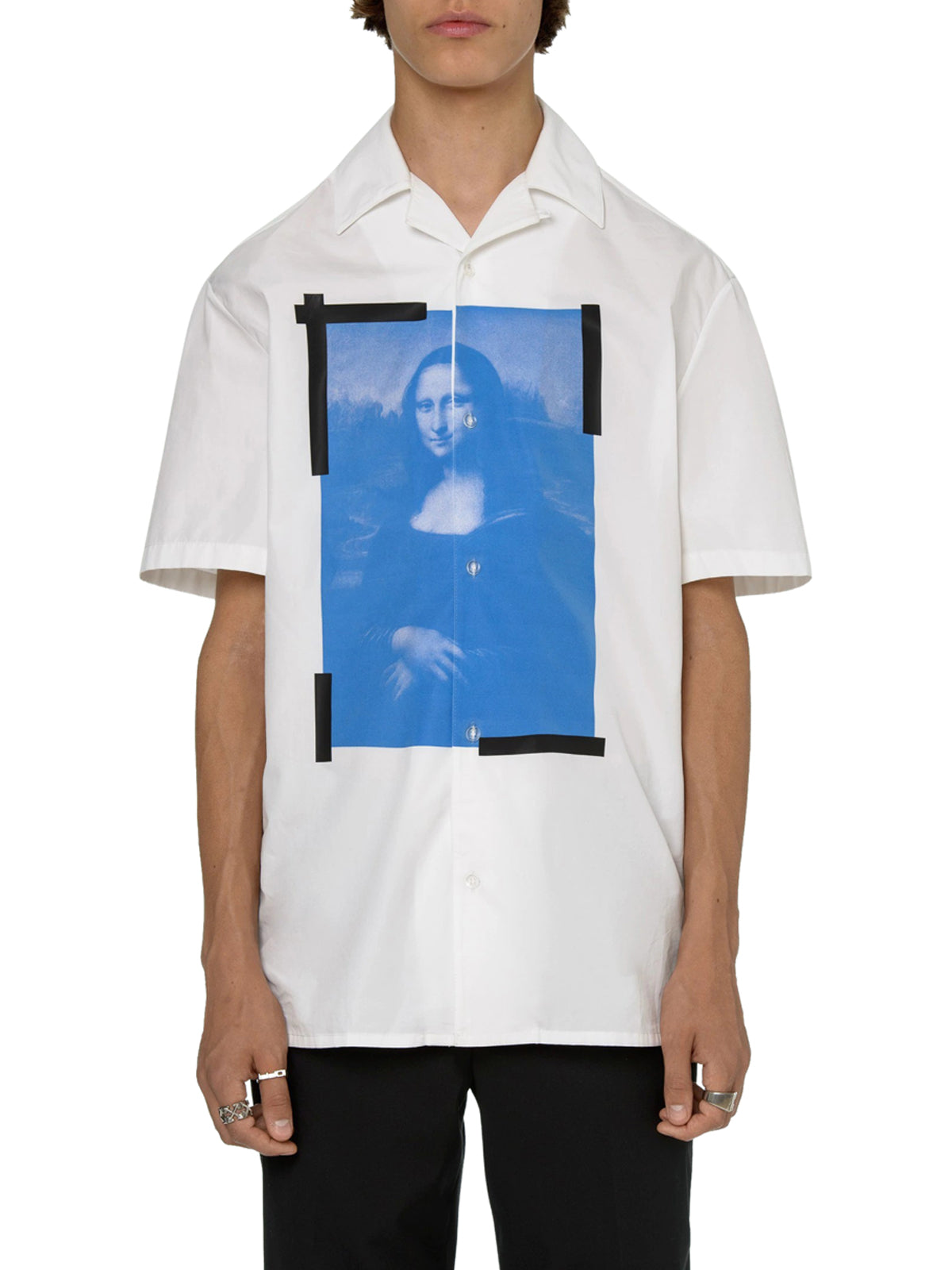 BLUE MONALISA HOLIDAY SHIRT