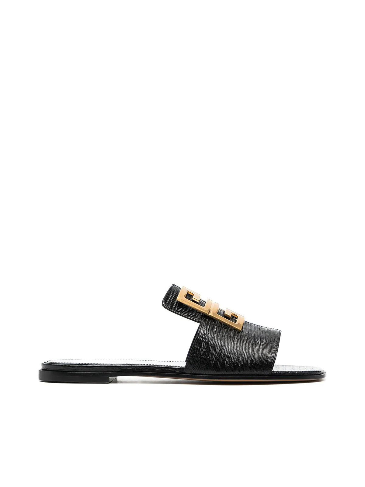Givenchy Leathers 4G LEATHER SANDALS