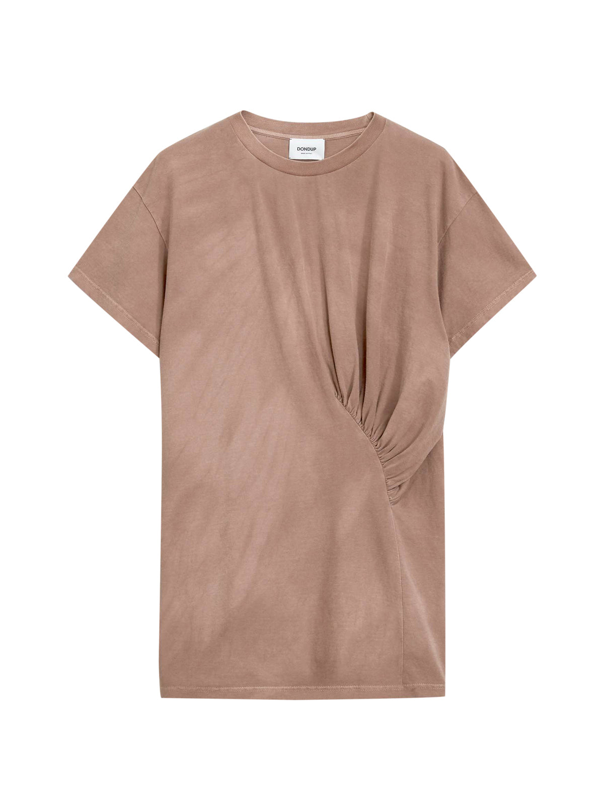 TSHIRT WITH DRAPING
