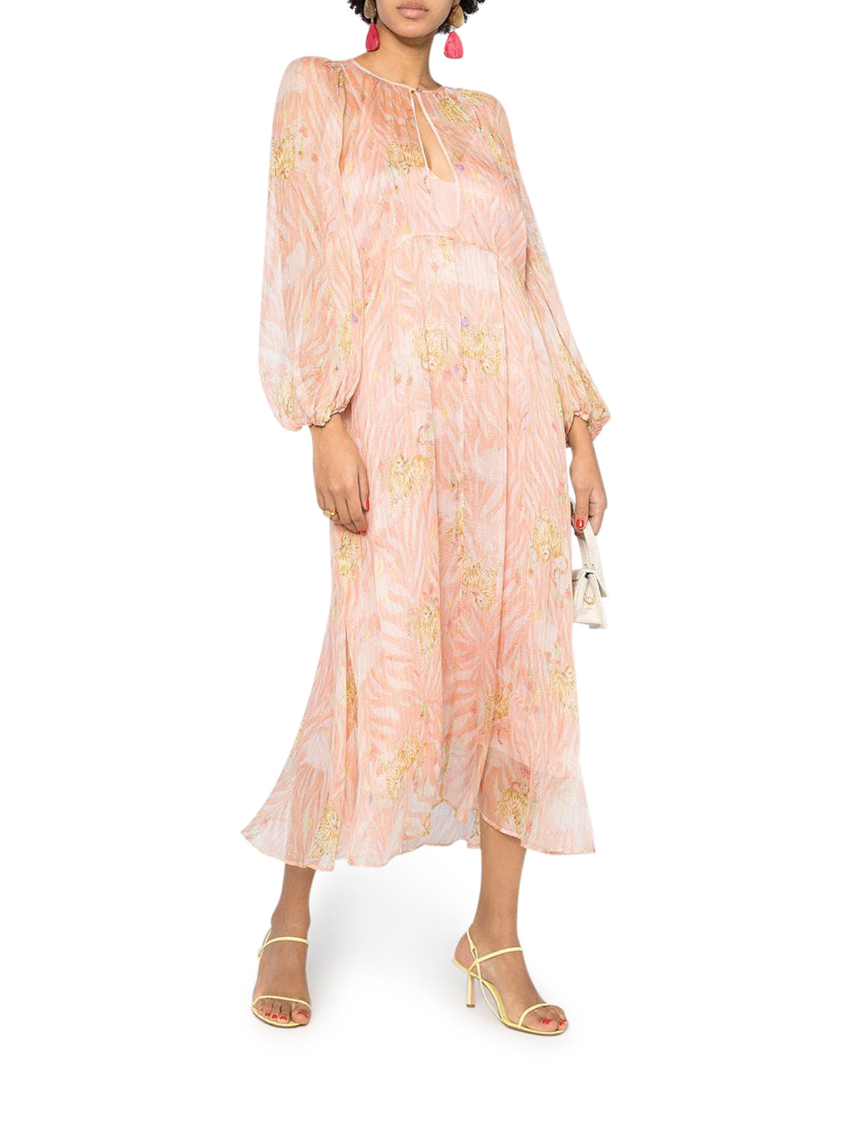 Forte Forte Maxi dresses PRINTED LONG-SLEEVED MAXI DRESS