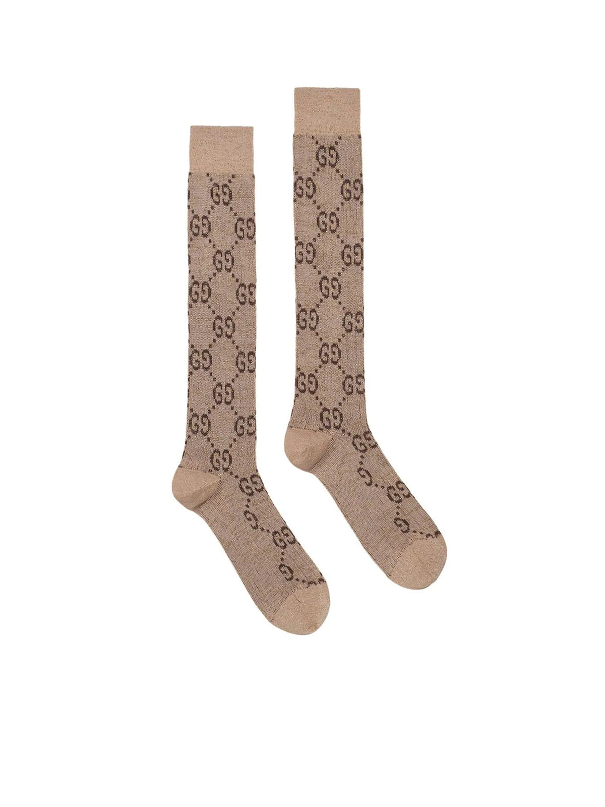 Lurex interlocking G socks