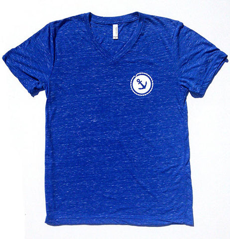 Anchor V-Neck T-Shirt