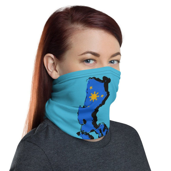 Philippine map Neck Gaiter/ Filippine map neck gaiter/