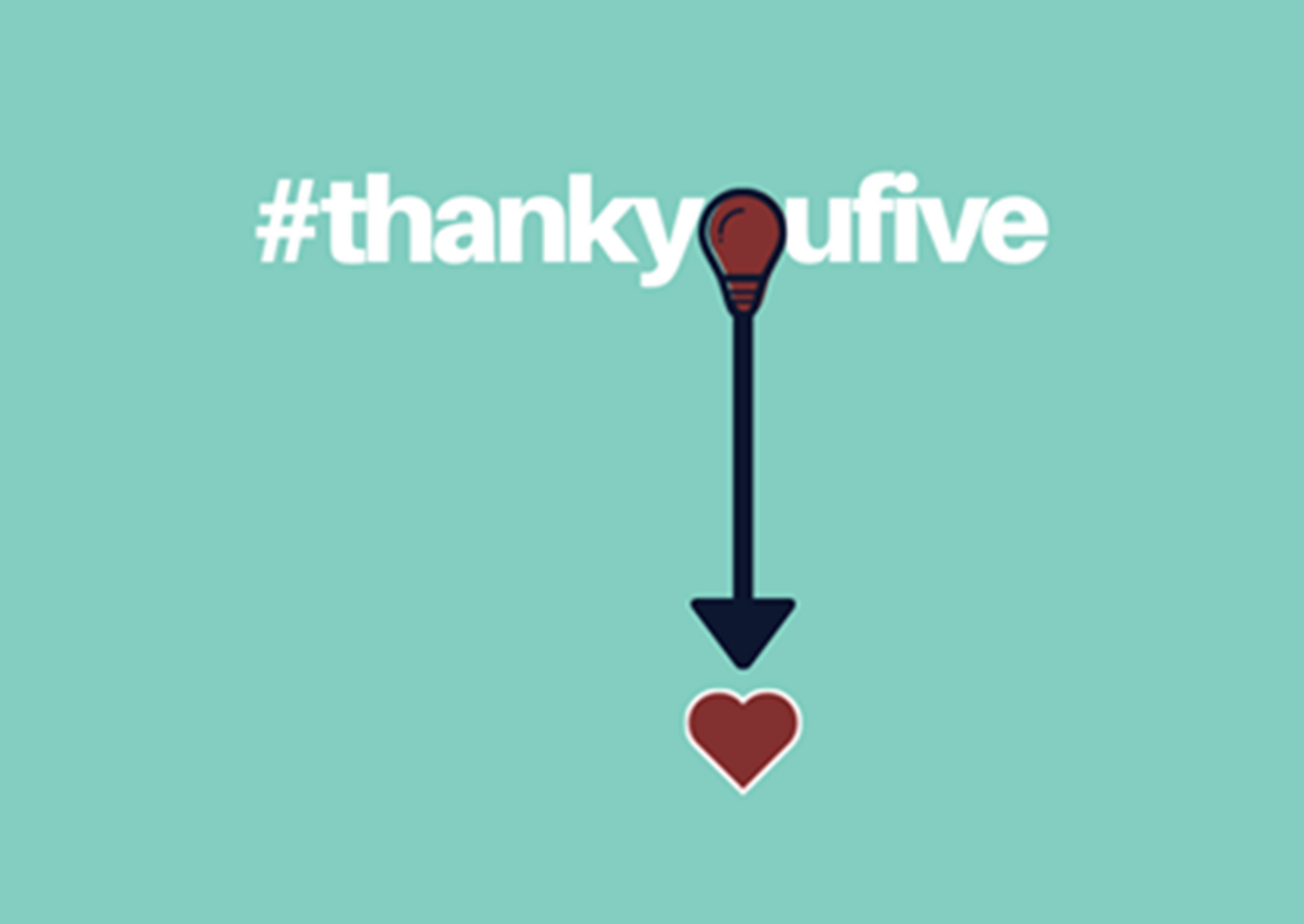 The Cre8sian Project Spotlight: #thankyoufive
