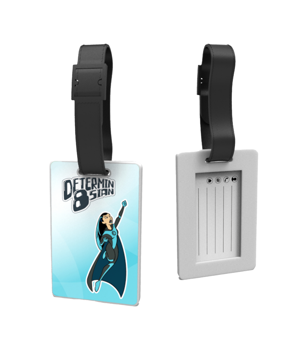 Determin8sian Luggage Tag