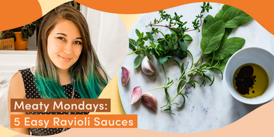 Meaty Mondays: 5 Easy Ravioli Sauces