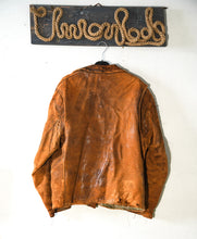 Load image into Gallery viewer, Distressed 40-50s leather jacket from America