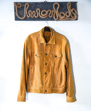 Load image into Gallery viewer, Truck jacket suede size L