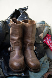 Vintage 883 Motorcycle Boots size 8