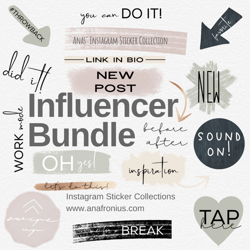 Instagram Story Elements - Influencer Bundle