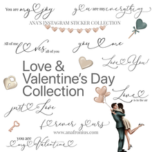 Load image into Gallery viewer, Instagram Story Stickers Love and Valentine's Day Collection