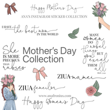 Load image into Gallery viewer, Story Stickers Mother's DayCollection