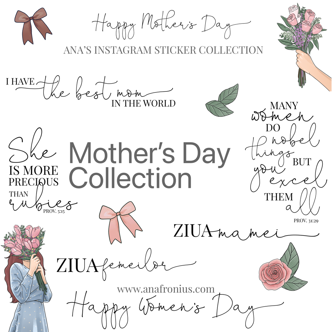 Story Stickers Mother's DayCollection