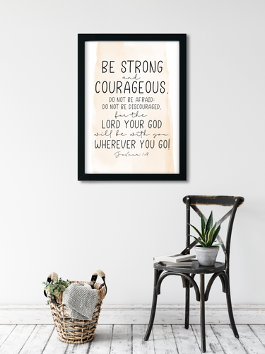 Be strong and courageous 1.1  Printable