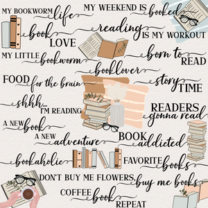 Instagram Story Stickers Bookworm Collection