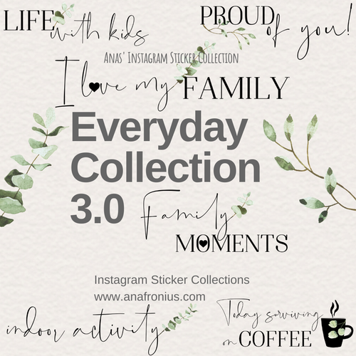 Instagram Story Elements - Everyday Collection 3.0