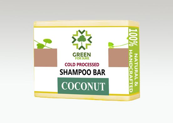 Coconut Hair Shampoo Bar (Cold Processed)