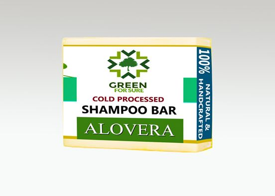 Aloe Vera Hair Shampoo Bar (Cold Processed)