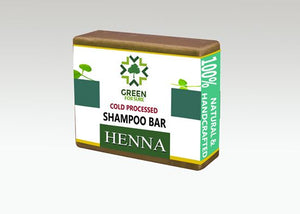 Henna Hair Shampoo Bar (Cold Processed)