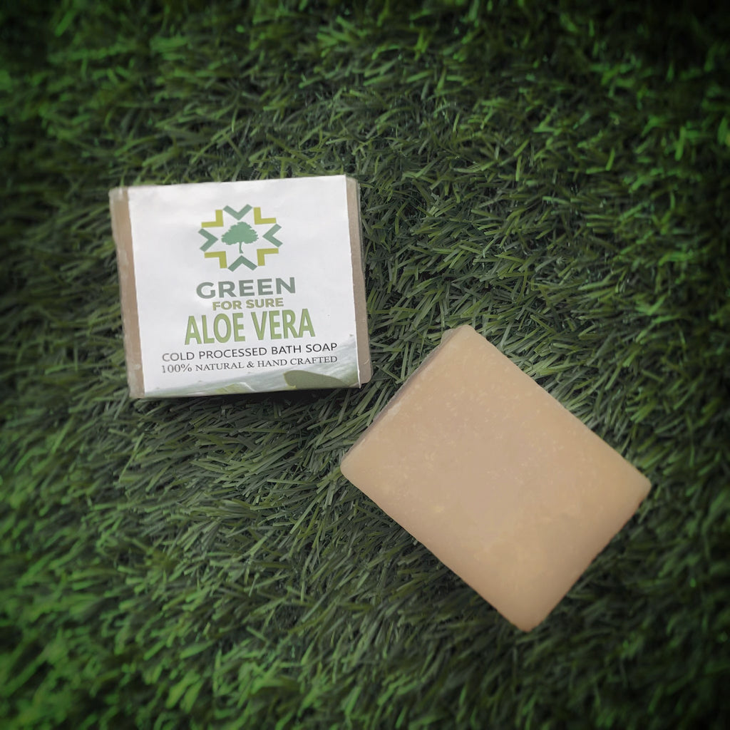 Aloe Vera Cold Processed Soap (85 gms)