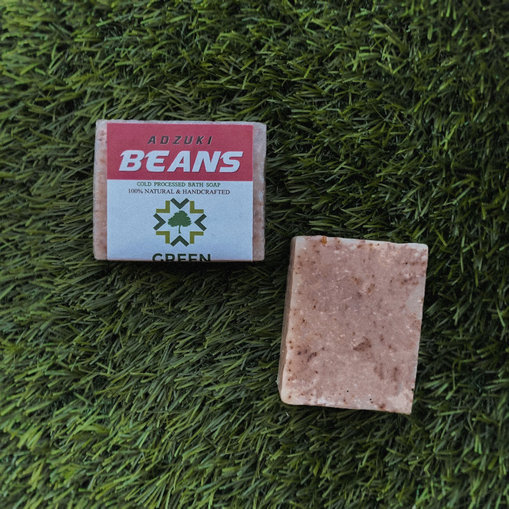 Adzuki Beans Exfoliating Cold Processed Soap (85 gms)