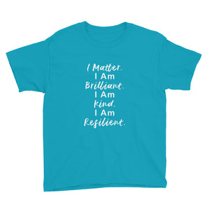 I Matter and More Youth Short Sleeve T-Shirt